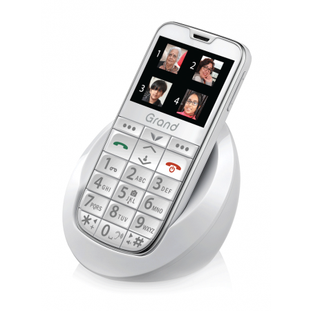Easy Fone Senior Phone-Grand (White)
