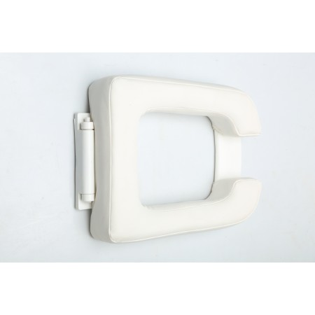 RECTANGULAR FOAM TOILET SEAT
